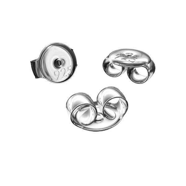 Záražky na naušnice*stříbro 925*BAR 1 5,3 mm