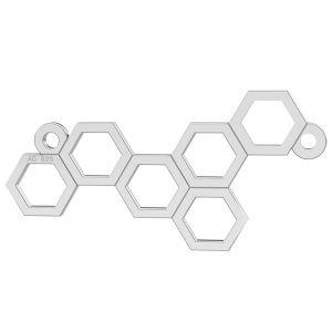 Plástev medu privesek, LK-0348 - 0,50