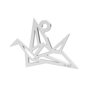 Origami pták privesek, LK-0364 - 0,50
