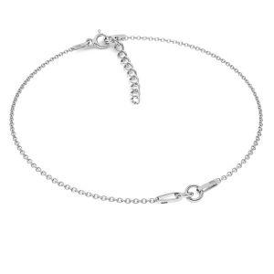 Báze na náramky*stříbro 925*BRACELET 18 (A 030) + R1 50 15-19 cm