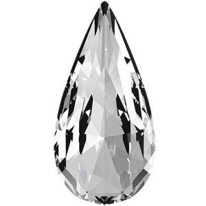 Teardrop Fancy Stone, Swarovski Crystals, 4322 MM 10,0X 5,0 CRYSTAL F