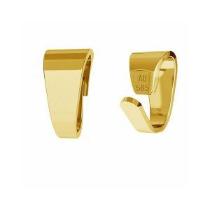 šlupne zlato 14K LKZ-00027 KR - 0,30 mm