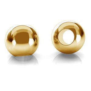 Kuličky 2,5mm zlato 14K P2LZ 2,5 F:1,2