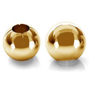 Kuličky 3mm zlato 14K P1FZ 3,0 F:0,9