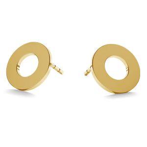 Kolo náušnice zlato 14K LKZ-00671 KLS - 0,30 mm