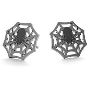 Pavouk halloween náušnice LK-1029 - 0,50