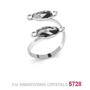 Dvojnásobek prsten Scarab 12mm S-RING 015 (5728 MM 12)