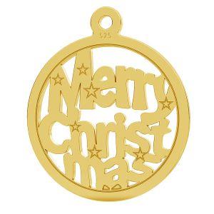 Merry Christmas přívěsek LK-1048 - 0,50