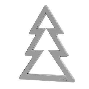 Vánoční strom přívěsek LK-1050 - 0,500