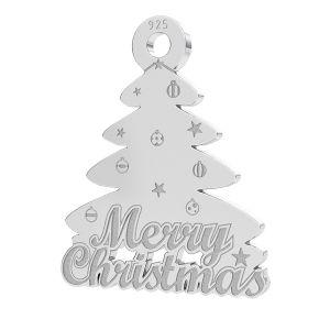 Vánoční strom přívěsek LK-1086 - 0,50