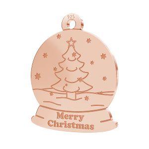 Vánoční strom přívěsek LK-1088 - 0,50