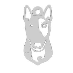 Bulterier pes přívěsek LK-1110 - 0,50