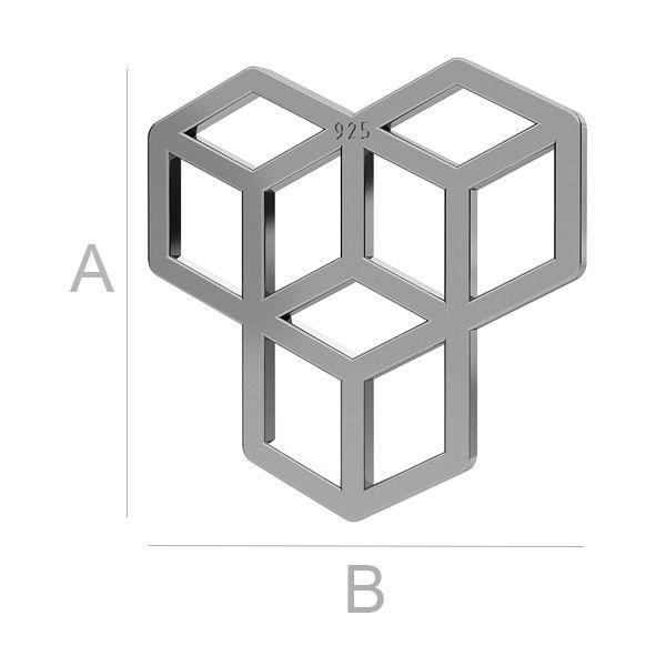 Namesti 3D přívěsek LK-1121 - 0,50