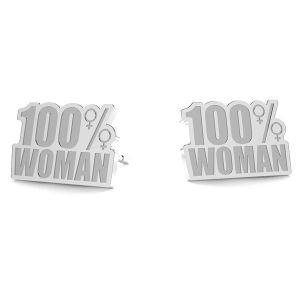 100% Woman náušnice LK-1189- 0,50 - KLS