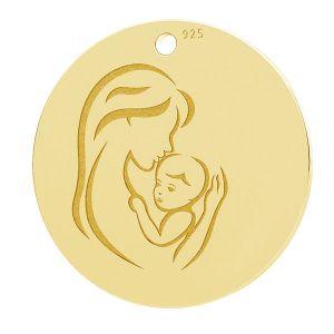 Matka a dítě privesek, LK-1290 - 0,50