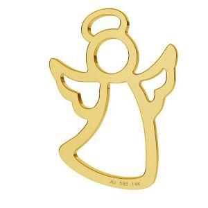 Anděl privesek, zlato 14K, LKZ-01296 - 0,30