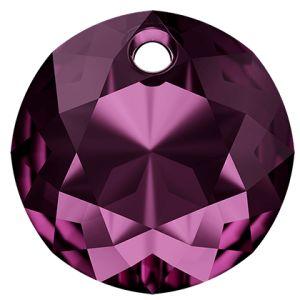 Classic Cut Pendant, Swarovski Crystals, 6430 MM 14,0 AMETHYST
