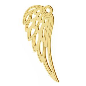 Andělská křídla privesek, zlato 14K, LKZ-01305 - 0,30