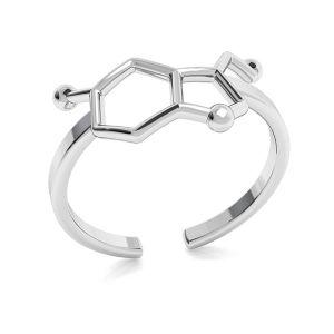 Znamení nekonečna kroužek, stříbro 925, ODL-00349