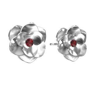 Ruže náušnice ODL-00041 KLS - SIAM