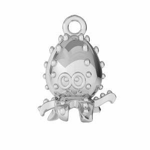 Chobotnice přívěsek, stříbrný 925, ODL-00362