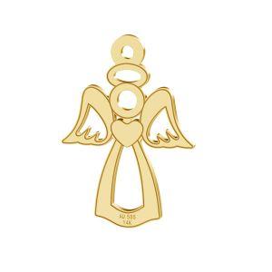 Anděl privesek, zlato 14K, LKZ-00332 - 0,30