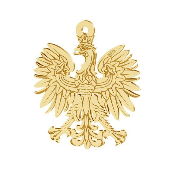 Jetel přívěsek zlato 14K LKZ-00471 - 0,30