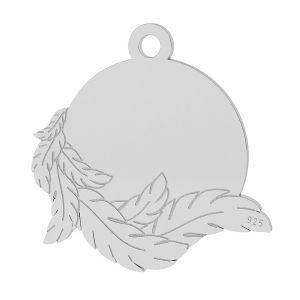 Křídla přívěsek, stříbrno 925, LK-1467 - 0,50