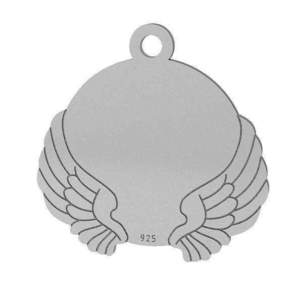 Křídla přívěsek, stříbrno 925, LK-1469 - 0,50