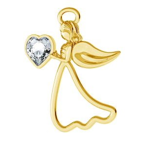 Anděl privesek, stříbro 925, ODL-00351 ver.2