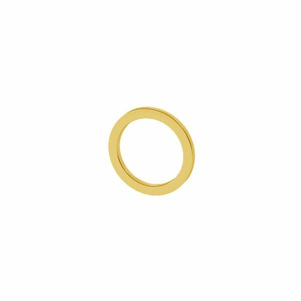 Otevřený kruh přívěšek 9mm, stříbrný 925, LK-1500 - 0,50