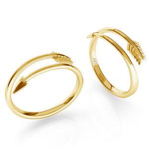 Sipka prsten stříbrny, ODL-00451