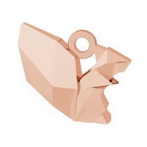 Veverka origami přívěšek stříbrný, ODL-00444