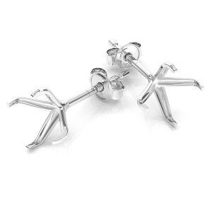 Náušnice Krystaly Swarovski stříbrný, KLSB 23 (1088 SS 29)