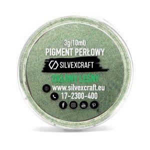 Pearlový pigment - zelená, 3 g