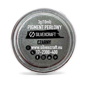 Pearlový pigment - černá, 3 g