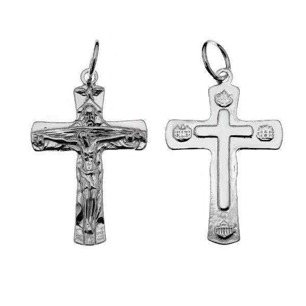 Krucifix přívěsek, stříbro 925, ODL-00441