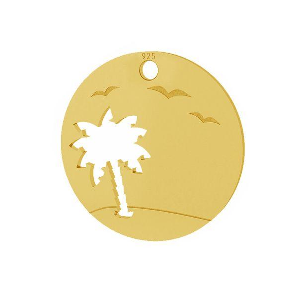 Palma přívěsek stříbrný 925, LKM-2089 - 0,50