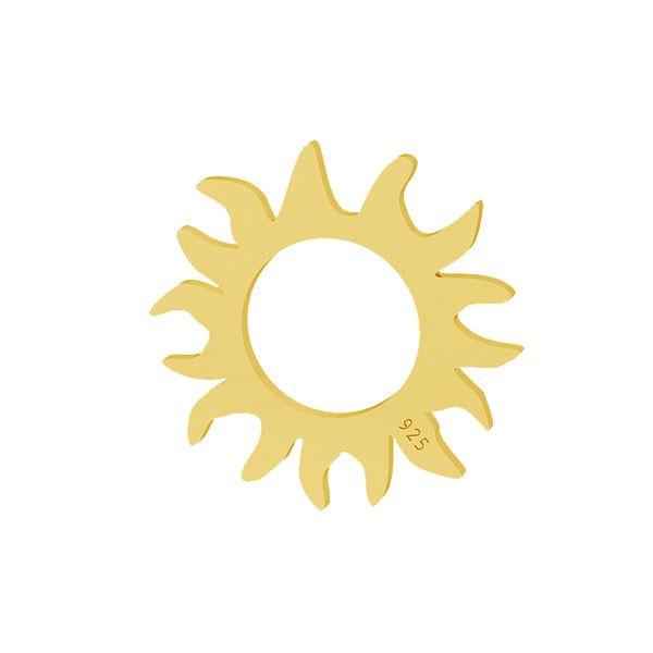 Slunce přívěsek stříbrný 925, LKM-2091 - 0,50