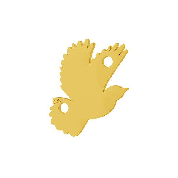 Pták přívěsek stříbrný 925, LKM-2095 - 0,50