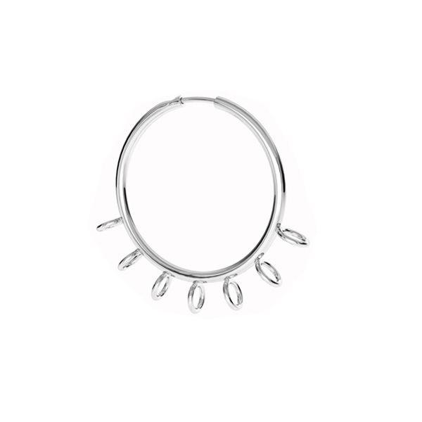 Kruhové náušnice S-EARRING 014