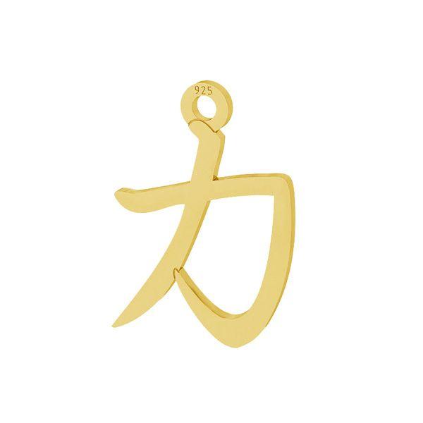 Čínská síla znamení přívěsek stříbrný 925, LKM-2108 - 0,50