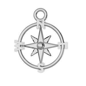 Kompas přívěšek stříbrný 925, ODL-00465