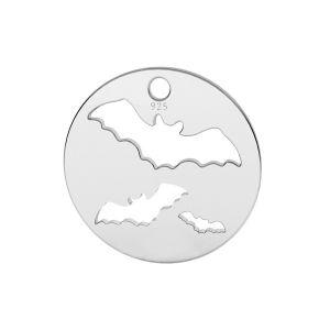 Netopýr přívěsek stříbrný 925, LK-1561 - 0,50