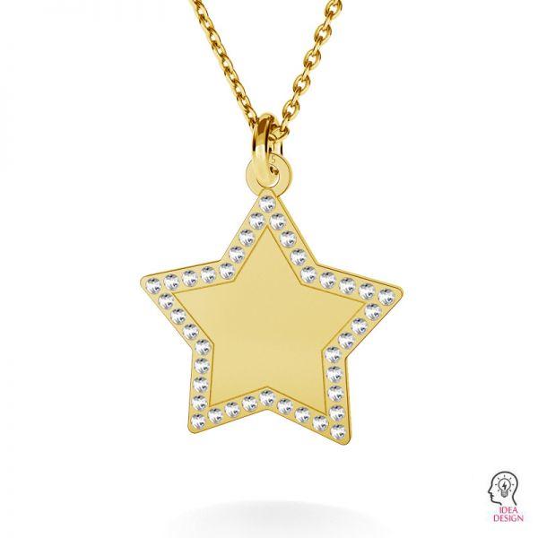 Hvězda přívěšek stříbrný 925, LKM-2132 - 0,80 (1028 PP 4)