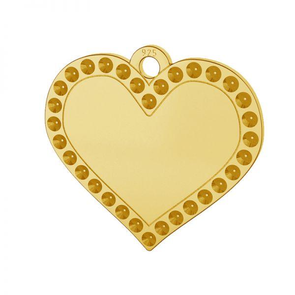 Srdce přívěšek stříbrný 925, LKM-2139 - 0,80 (1028 PP 4)