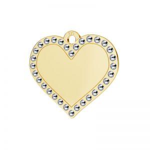 Srdce přívěšek stříbrný 925, LKM-2139 - 0,80 ver.2