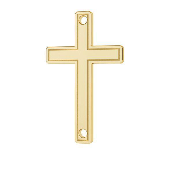 Krucifix přívěsek zlato 14K LKZ-00028 - 0,30 mm
