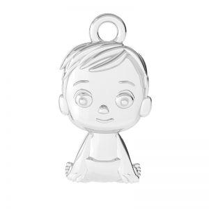 Chlapec přívěšek stříbrný 925, ODL-00504