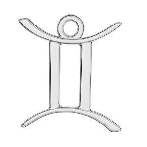 Blíženci přívěšek zvěrokruh, stříbrný 925, ODL-00570
